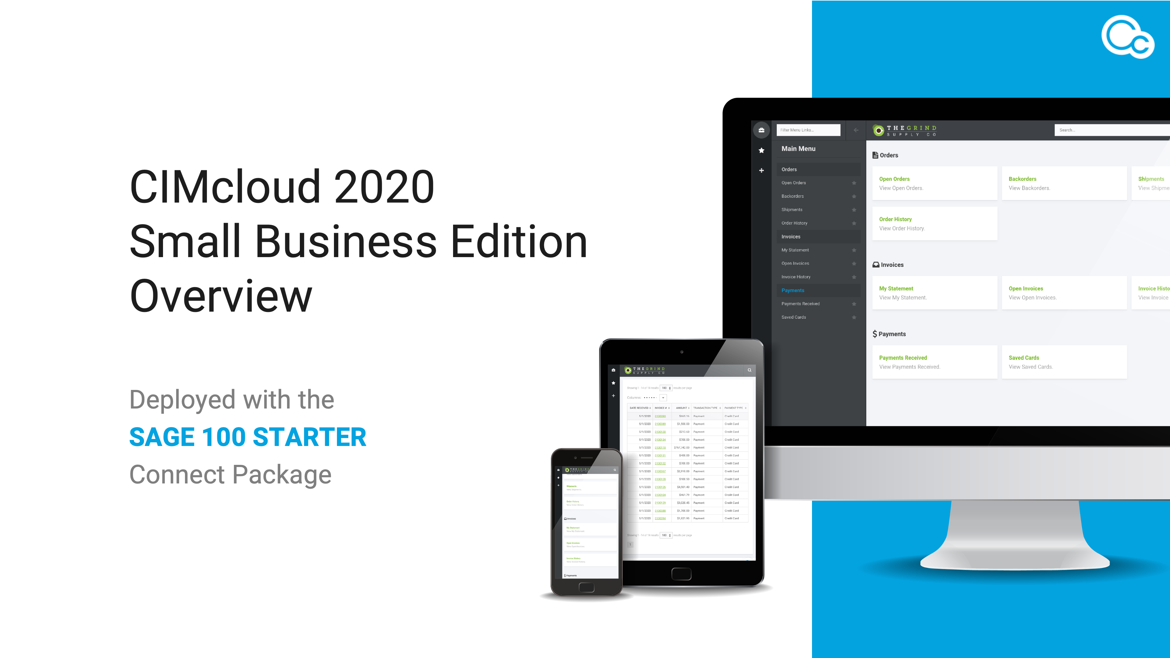 CIMcloud 2020 SBE Overview