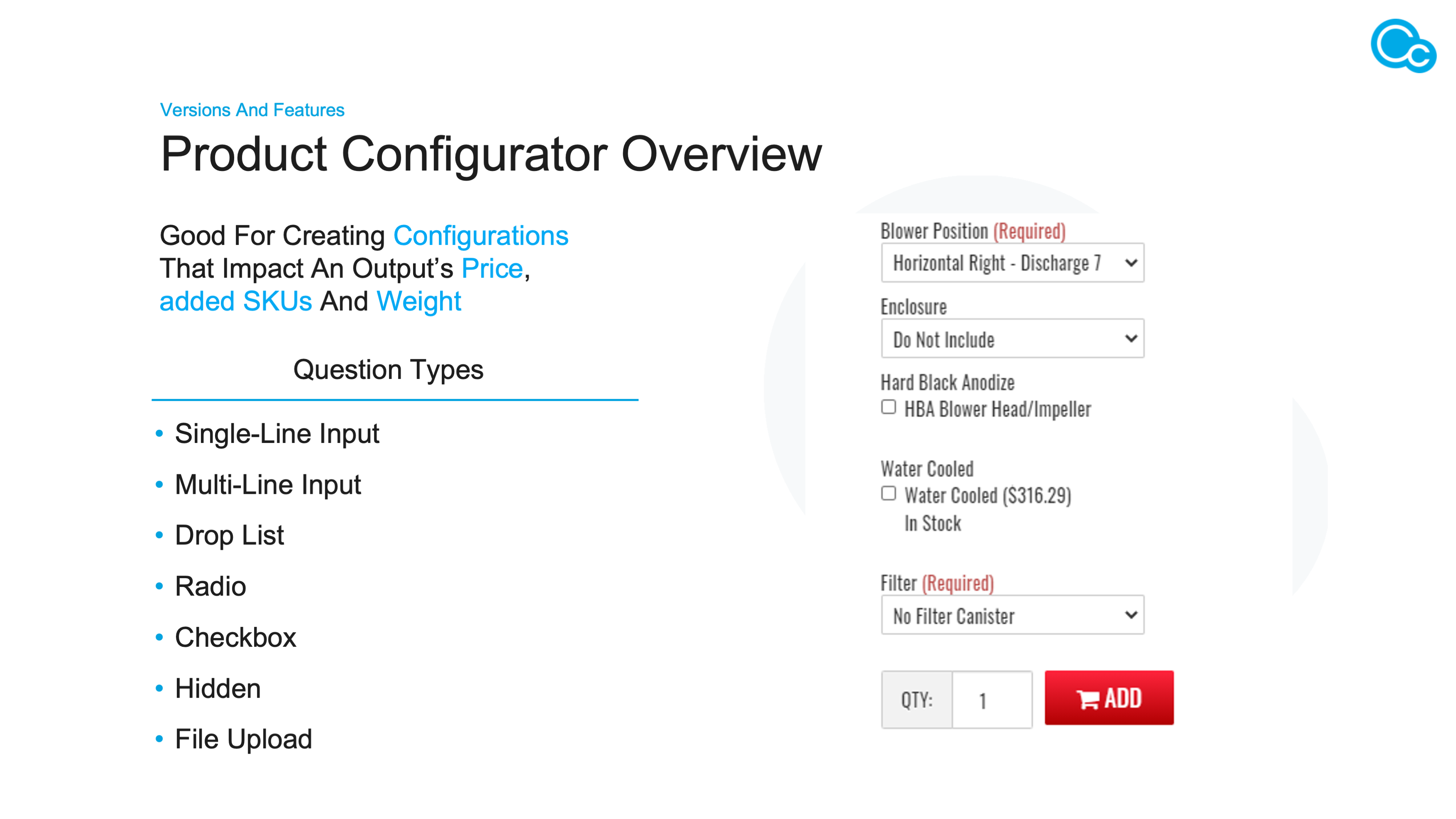 Managing Product Variability with Product Configurator Image